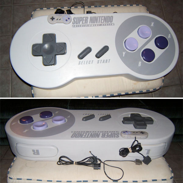 World's largest SNES controller!