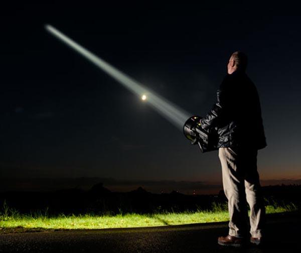 Homebrew flashlight adds a new star to the galaxy