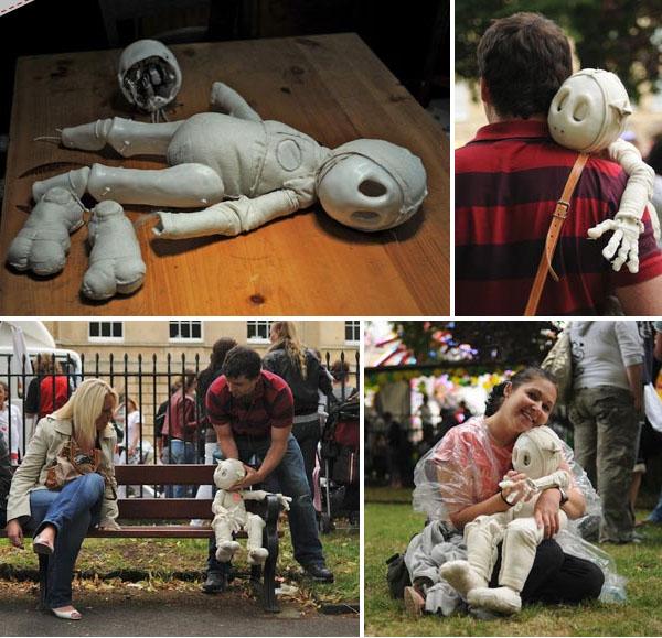 Heart Robot – an emotive puppet