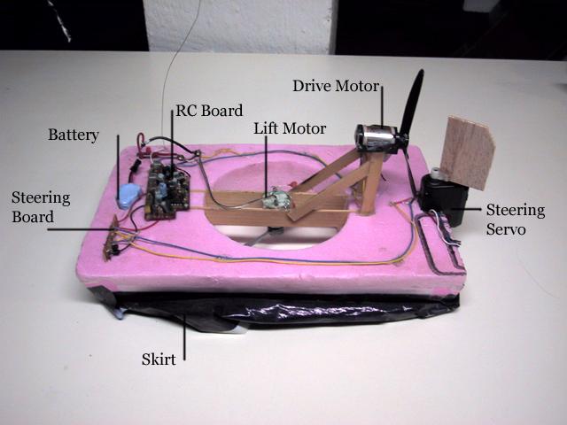 Lo-tek R/C hovercraft