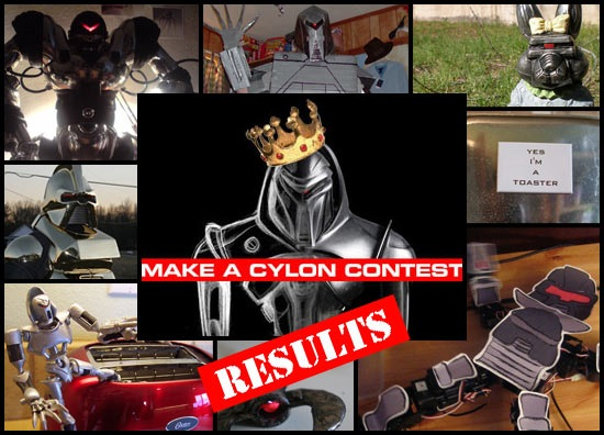 At last! DVICE's Make a Cylon Contest winners, selected by Tricia Helfer and Grace Park