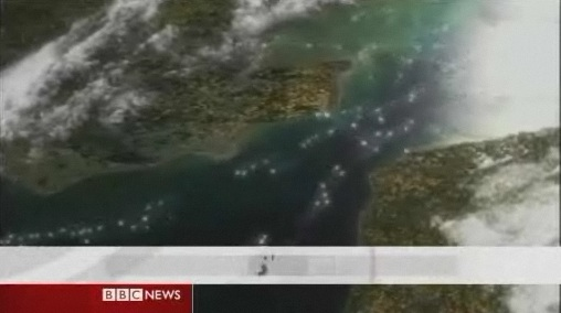 Britain seen from above