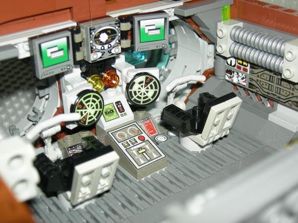 Custom LEGO Watchmen Owlship
