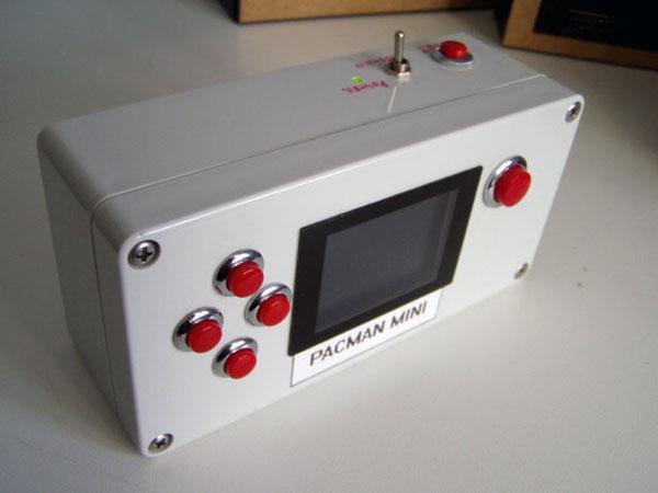The PACMAN Mini: Portable Namco Games