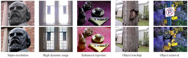 Photographically enhanced video