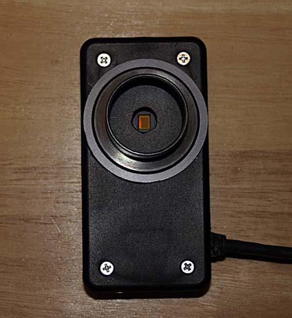 Modify a webcam into a space telescope