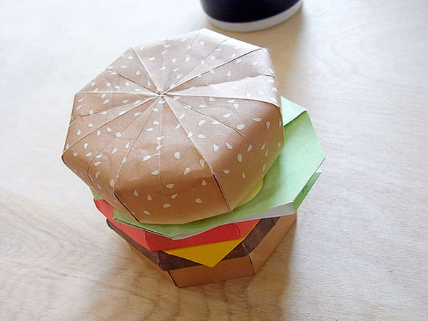 How to: Make an Origami Burger