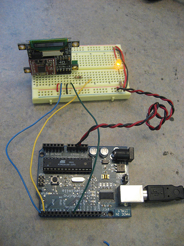 How to: Control OLEDs with an Arduino