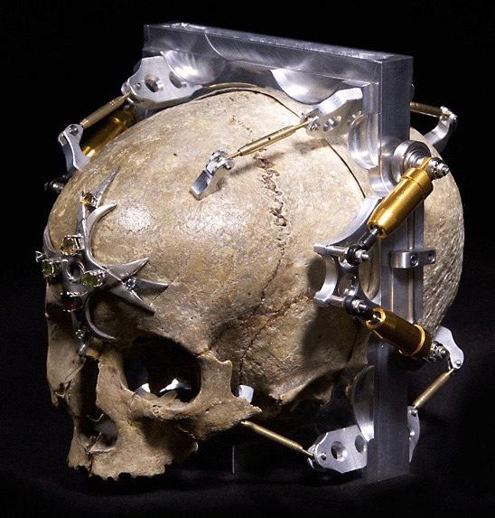 Pinhole skull camera – The Art of Wayne Martin Belger
