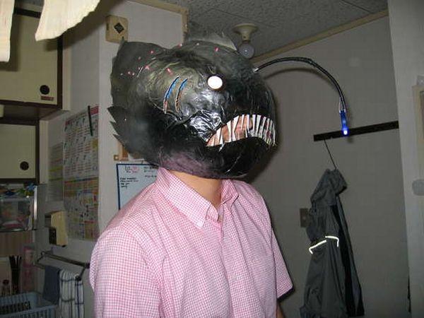 Anglerfish mask
