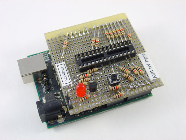 HOW TO – use Arduino as a high voltage programmer