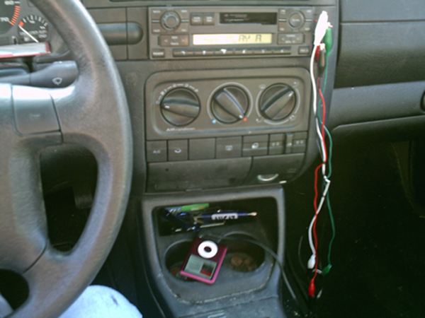 Hacking your car stereo