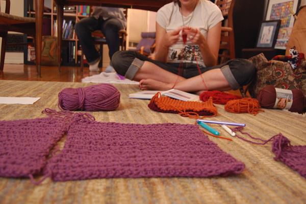 More on Lion Brand's Sampler Afghan Crochet-Along