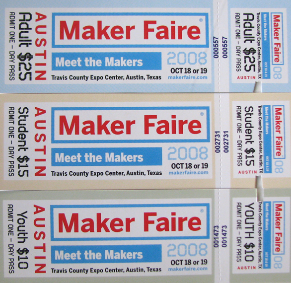 Maker Faire Ticket Specials & Giveaways