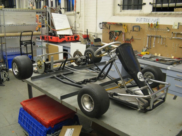 The Cap Kart: DIY Electric Go-kart
