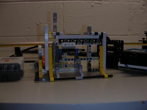 LEGO quantum erasure experiment