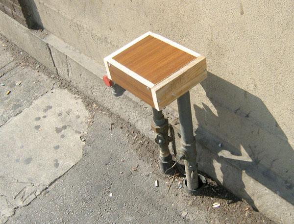 Street-pipe seat-mod