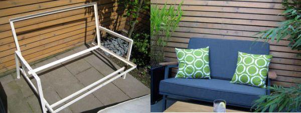 Outdoor furniture remake