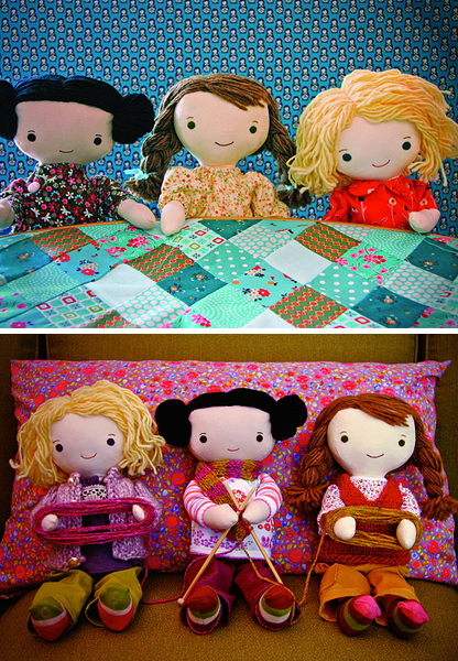 Quilting Bee & Knitting Club Postcards