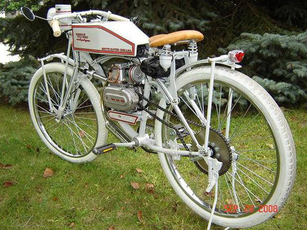 DIY: Retro gas powered bike