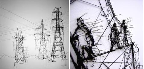 Pins & Threads installation in London