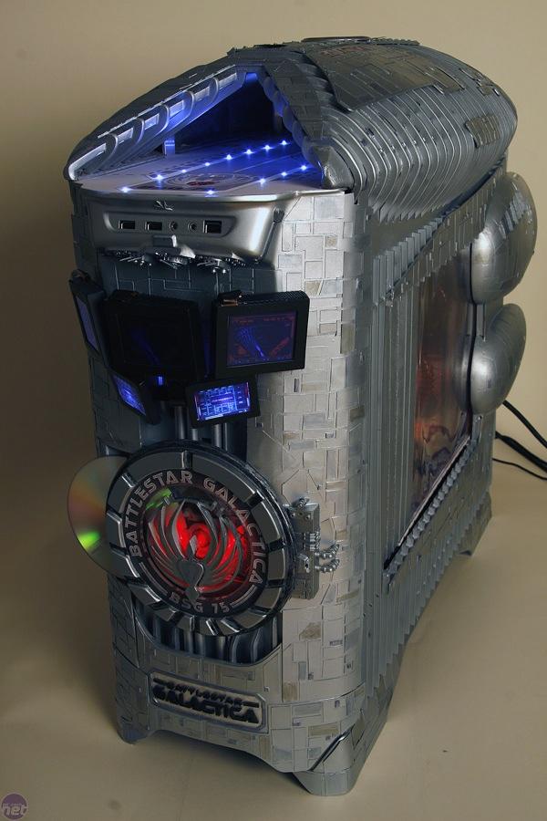 Battlestar Galactica case mod