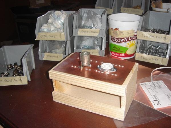 Phantastron – DIY tube based music kit