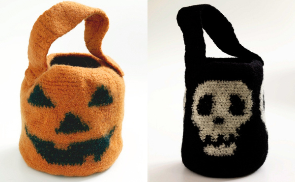 Lion Brand Yarn's Free Halloween Patterns