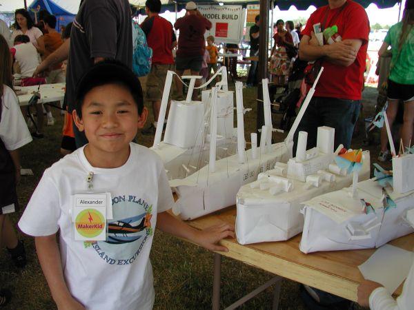 Maker Kids at Maker Faire Austin