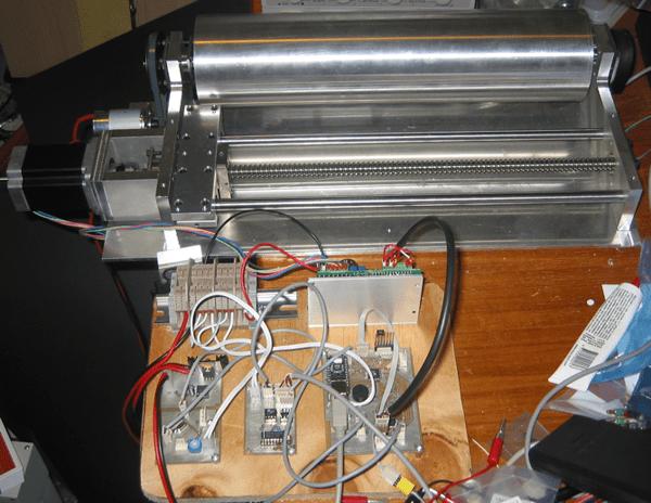Micro-controller based photo-plotter