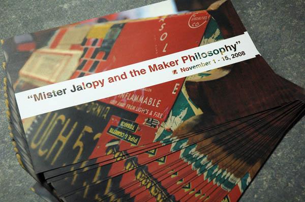 Mister Jalopy's gallery show