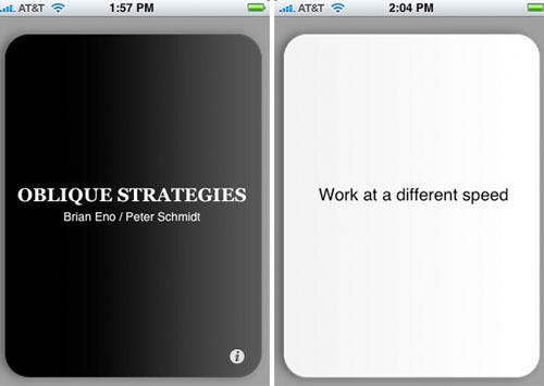 Creative advice on iPhone