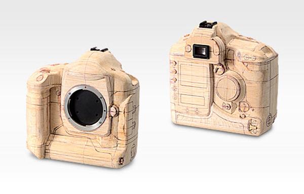 Balsa Wood DSLR Camera