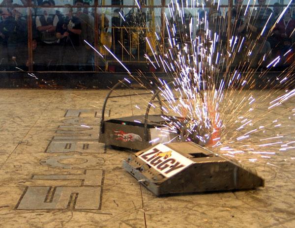 Maker Faire Austin: Fighting Robots