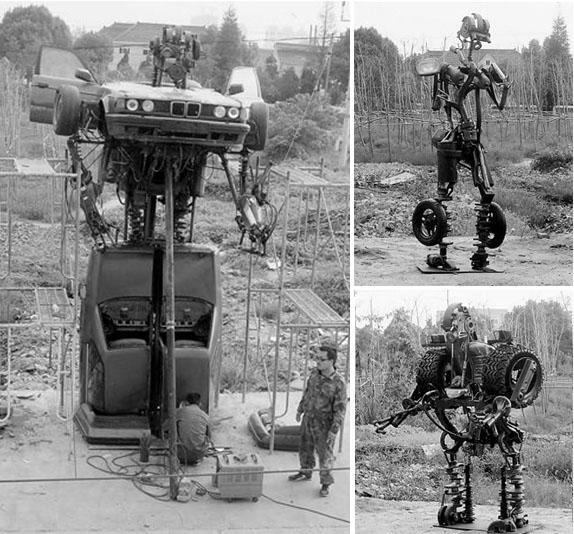 Scrap-heap transformers