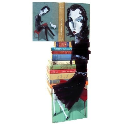 Paintings on books…