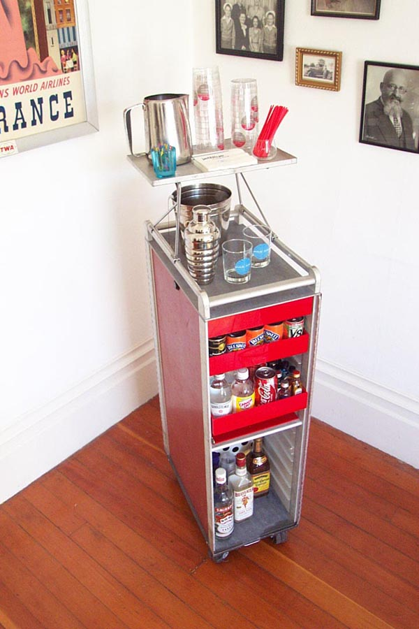 Bar From Airline Drink Cart Make