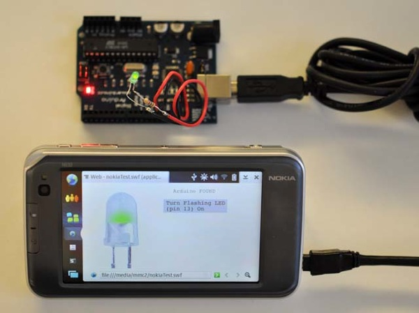 HOW-TO – Connecting the Nokia 770 to Arduino