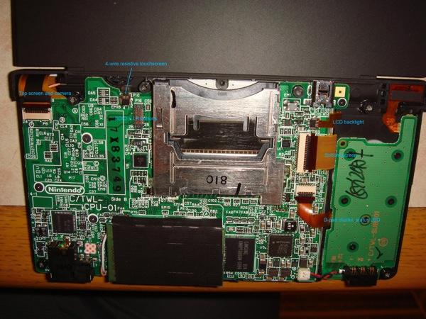Inside the Nintendo DSi