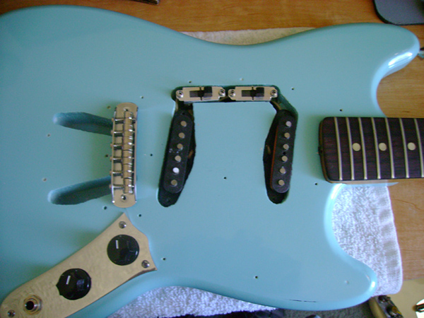 Rewire And Customize A Fender Mustang Guitar Make