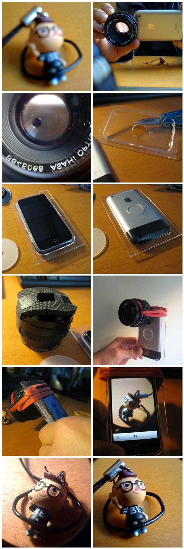 macroPhone – an iPhone macro lens
