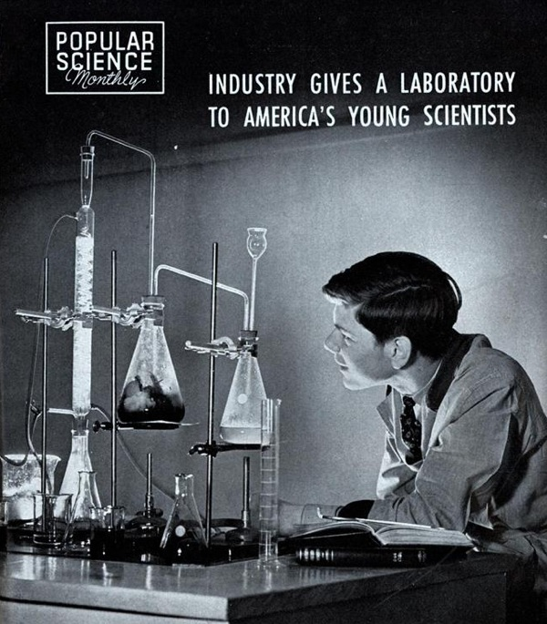 Industry gives a laboratory to America's young scientists… WE CAN DO IT AGAIN?