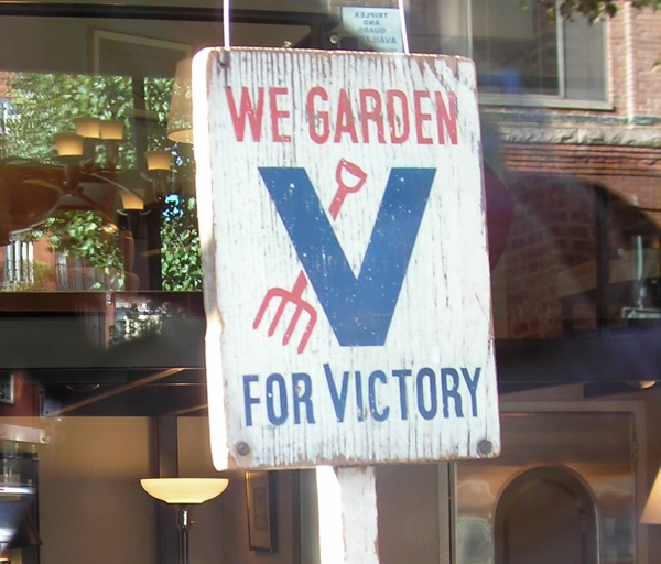 V for Victory & victory garden kits