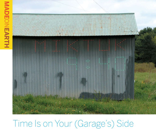 Time Is on Your (Garage's) Side