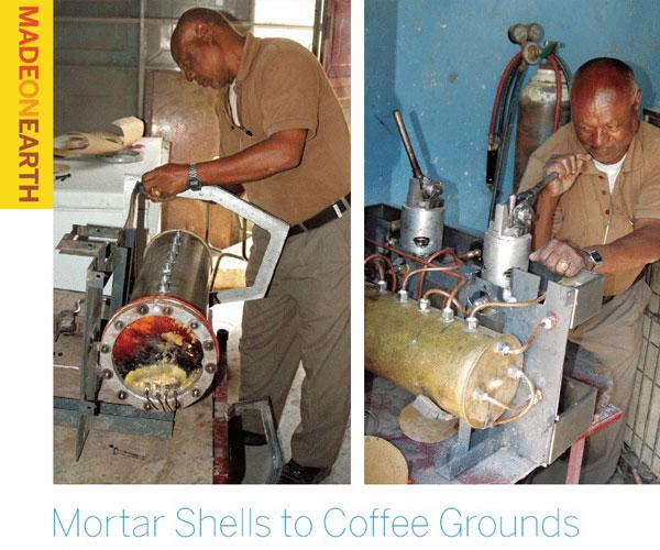 Mortar Shells to Coffee Grounds