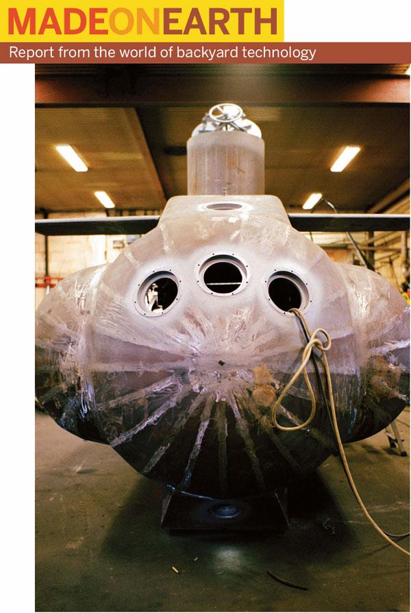 DIY Navy – Oberon Class Submarine for sale… & Erik and the submarine