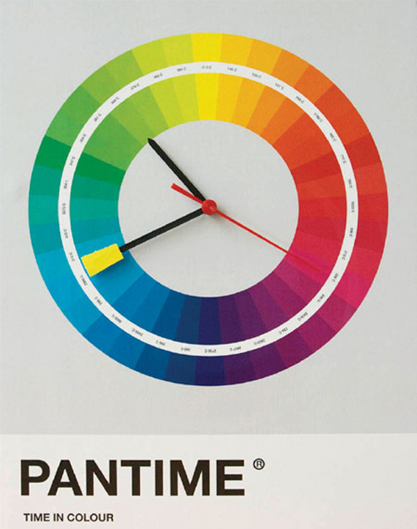 Tell time with color samples