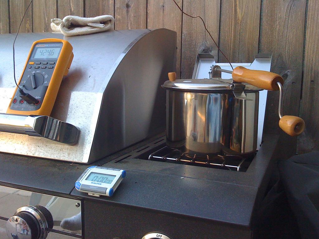 Backyard coffee roasting