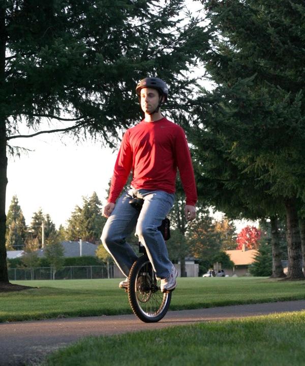 Self balancing unicycle… for sale soon! (video)