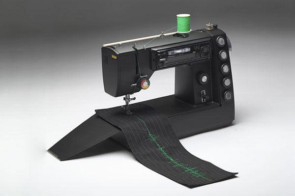 Sew sound waves onto your clothes